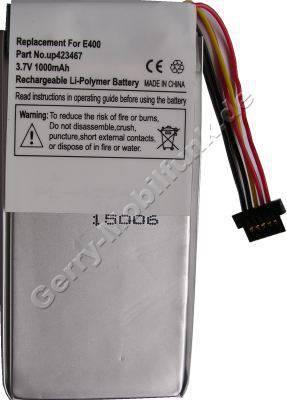 Akku für Toshiba Pocket PC e420 Li-Polymer 3,7V 1000mAh ca.40g  (Akku vom Markenhersteller, nicht original)