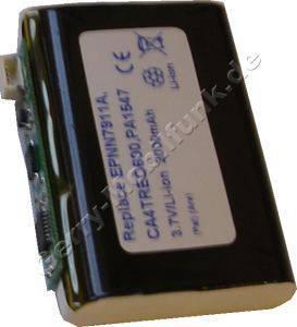 Akku für Palm Treo 600 (baugleich mit EPNN7911A, CA4TREO600, PA1547) Akkueinsatz LiIon 3,7V 2000mAh 10,3mm dick ca.37g (Akku vom Markenhersteller, nicht original)