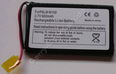 Akku für PalmOne m150 Li-Ion 3,7V 600mAh ca.30g  (Akku vom Markenhersteller, nicht original)