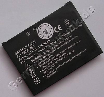 Akku für Palm Treo 500v (baugleich mit 157-10094-00, 157-10099-00) Akkueinsatz LiIon 3,7V 4,8Wh 1300mAh 6,4mm dick ca.25g (Akku vom Markenhersteller, nicht original)