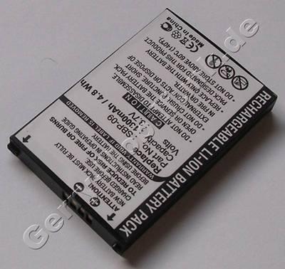 Akku für Asus MyPal A696 (baugleich mit SBP-09) Akku LiIon 3,7V 1300mAh 7mm dick ca.25g (Akku vom Markenhersteller, nicht original)
