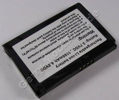 Akku für HTC Touch (ELFO160, BA-S230, 35H00095-00M) LiIon 3,7V 1100mAh 4,1Wh ca.25g (Akku vom Markenhersteller, nicht original)