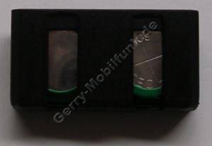Akku für Sennheiser BA90 Headset-Akku NiMh 2,4V 190mAh 8,5mm ca 3gramm (Akku vom Markenhersteller, nicht original)