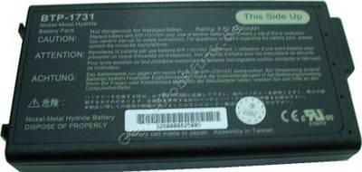 Notebook Akku für ACER TravelMate 503 NiMH, 9,6 Volt, 3500mAh, schwarz (146,0 x 77,6 x 19,8mm, ca. 483g) Akku vom Markenhersteller