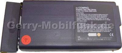 Notebook Akku für Compaq Presario 1810 Li-ion, 14,4 Volt, 3600mAh, dunkelgrau (150,0 x 77,3 x 20,0mm ca. 405g) Akku vom Markenhersteller