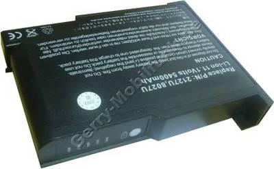 Notebook Akku für CHEM USA ChemBook 3015e, Li-ion, 11,1 Volt, 6600mAh, schwarz (138,5 x 108,8 x 22,3mm ca. 460g) Akku vom Markenhersteller (Ersetzt: BAT30WL)