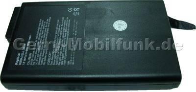Notebook Akku für CLEVO Modell 6400A 12 Volt, 4000mAh, schwarz (214,5 x 52,0 x 18,5mm ca. 514g) Akku vom Markenhersteller