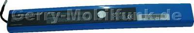 Notebook Akku für Clevo 2200 T, Li-ion, 14,8 Volt, 4000mAh, blau (275,0 x 37,0 x 20,0mm ca. 405g) Akku vom Markenhersteller