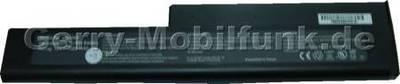 Notebook Akku für TARGA UN340T, LiIon, 14,8 Volt, 3900mAh, schwarz (285,0 x 61,5 x 22,5mm) Akku vom Markenhersteller
